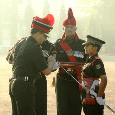 LADY CADET FROM VASHI GETS SWORD OF HONOUR