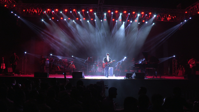 Arijit Singh Musical Concert thronged by 10K Fans