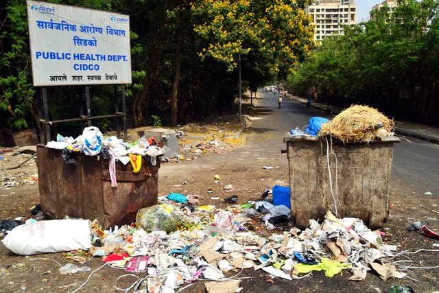 CIDCO launches complaint numbers to report garbage menace