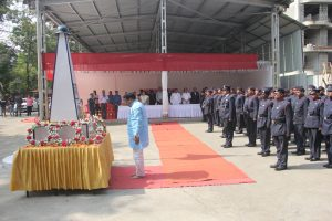 Homage paid to Martyrs to mark Fire Service Day