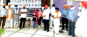 Sikhs of Kharghar Gurudwara paid homage to Martyrs